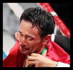 山中慎介が涙のTKO負け(画像・ルイスネリ動画)。タオル投入に会長怒り、具志堅の13防衛記録届かず。