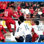東福岡高校サッカー部のメンバー(2015〜2016)。出身中学・クラブは福岡が多い。三宅選手への注目